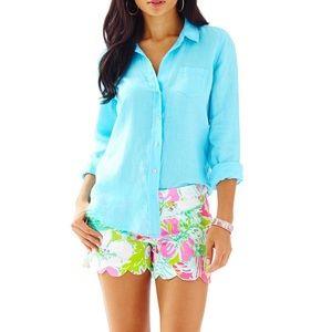 Lilly Pulitzer Anna Maria Button Down Shirt